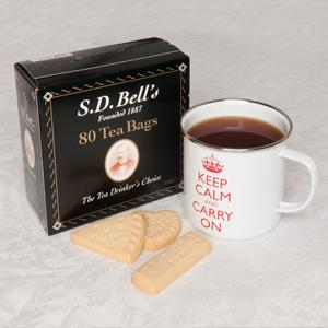 Black Tea Bags in a Box - 80 Count